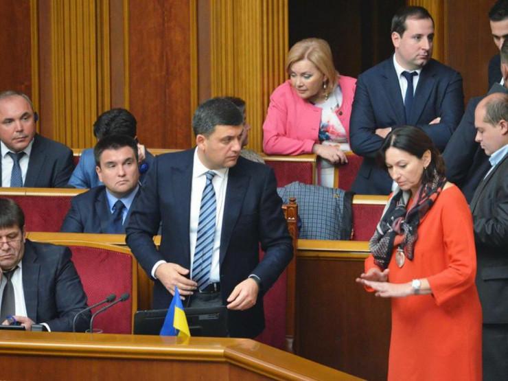 Ірина Констанкевич звернулась до Гройсмана з приводу соціального захисту чорнобильців