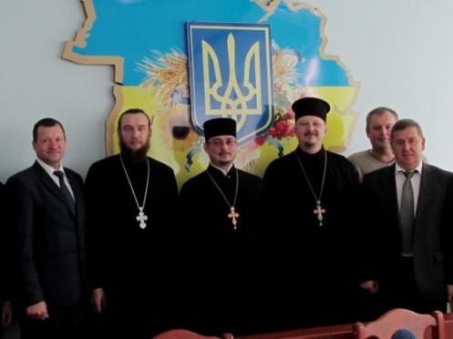 На Камінь-Каширщині відбулася зустріч керівників району із представниками духовенства краю.