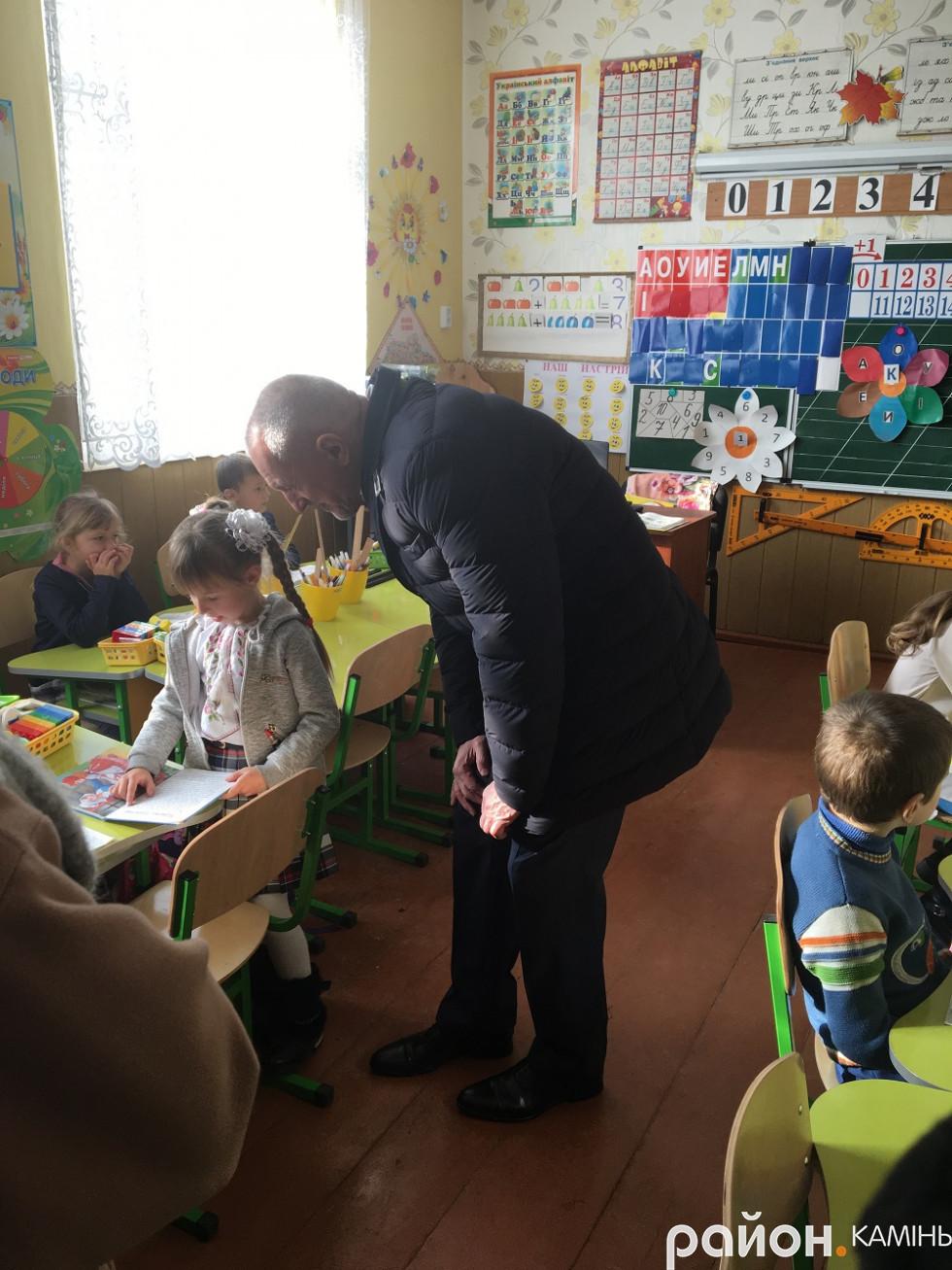 НУШ в селі Оленине