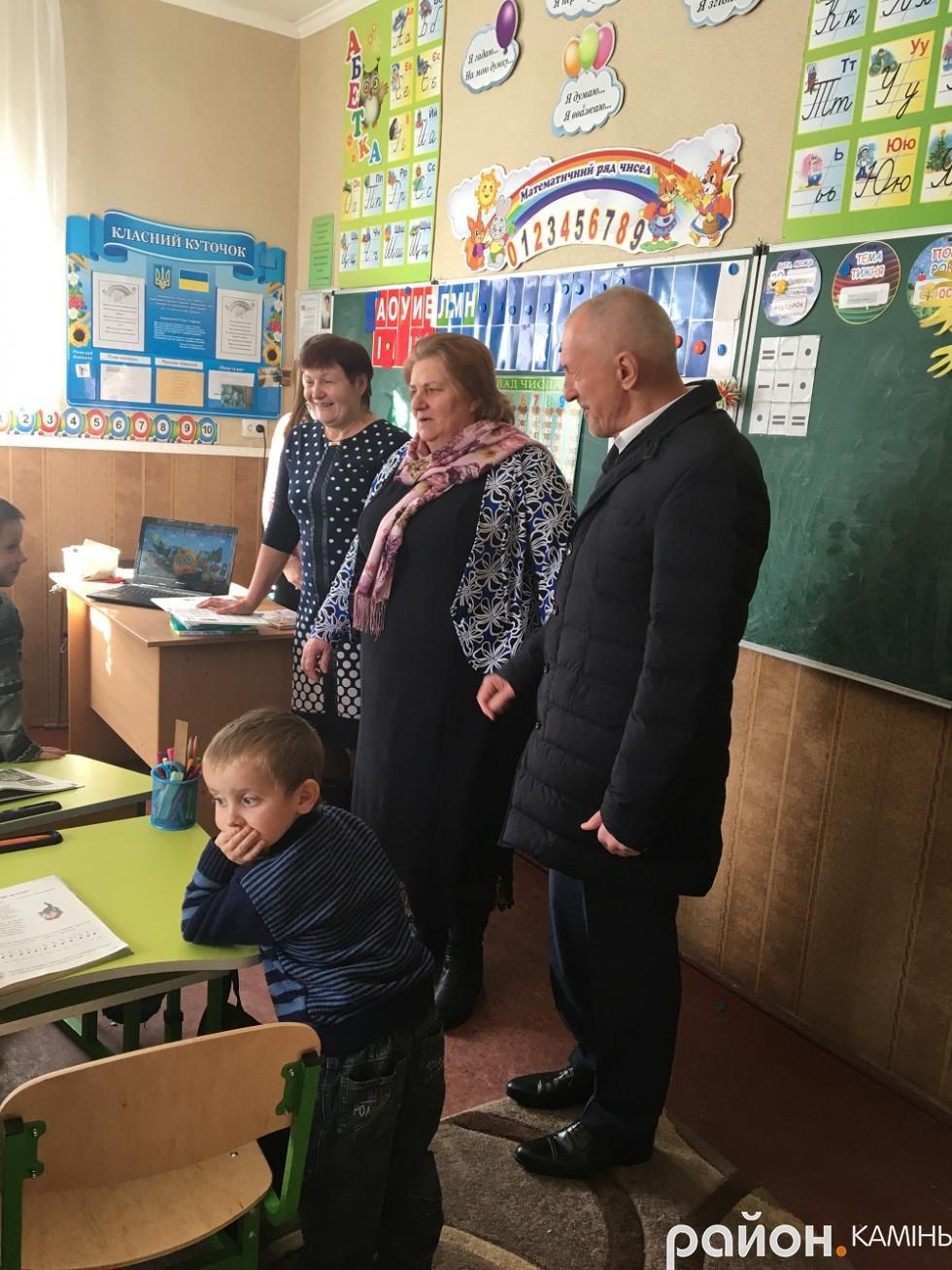 НУШ в селі Боровне