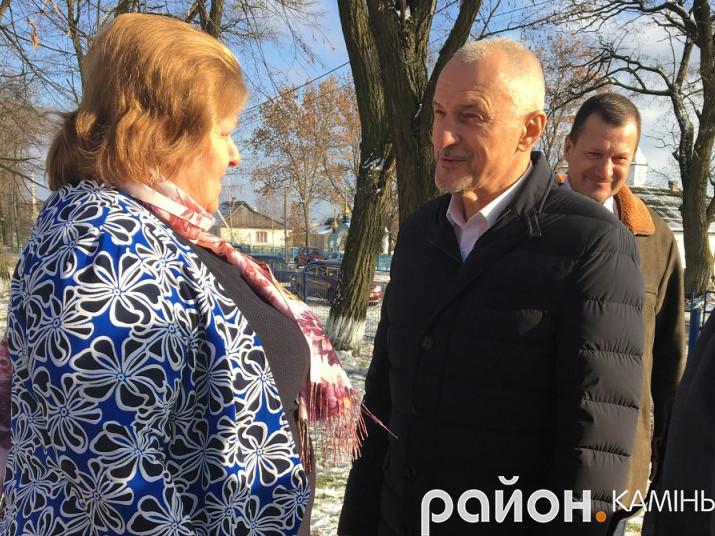 Губернатор Волині відвідав Камінь-Каширщину