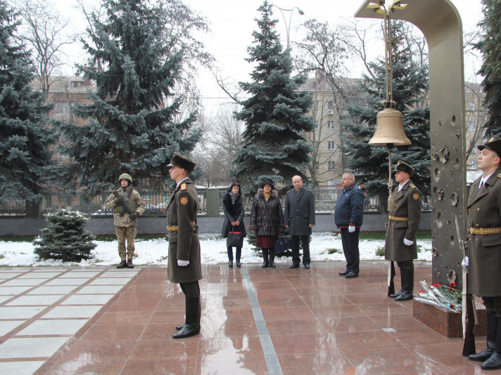 У Києві вшанували пам'ять загиблого на Сході волинянина