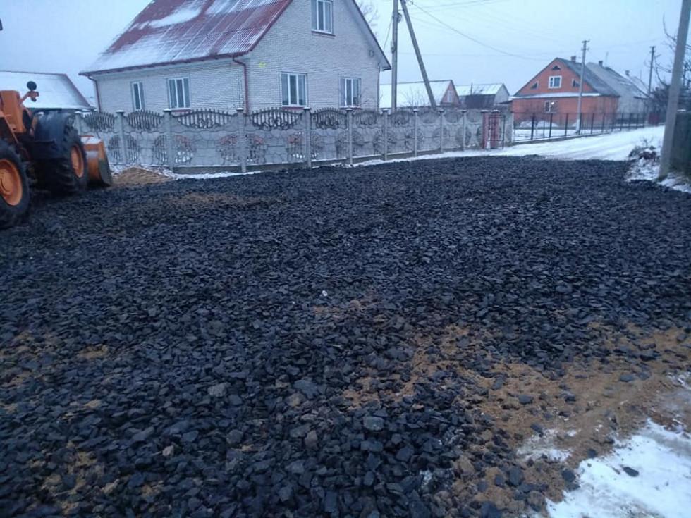 Облаштування дороги у Камені-Каширському