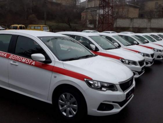 Для сімейних лікарів Волині придбали 23 автомобілі