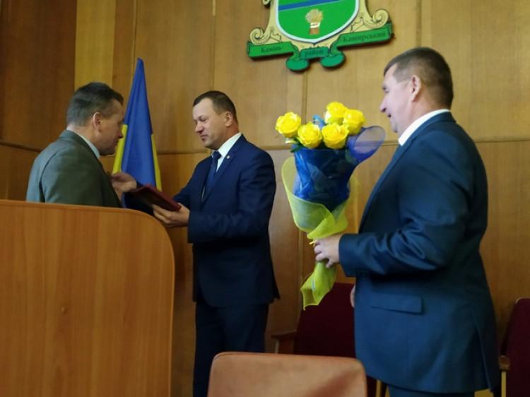 Боровненському сільському голові Михайлові Оліферчуку вручили високу державну нагороду