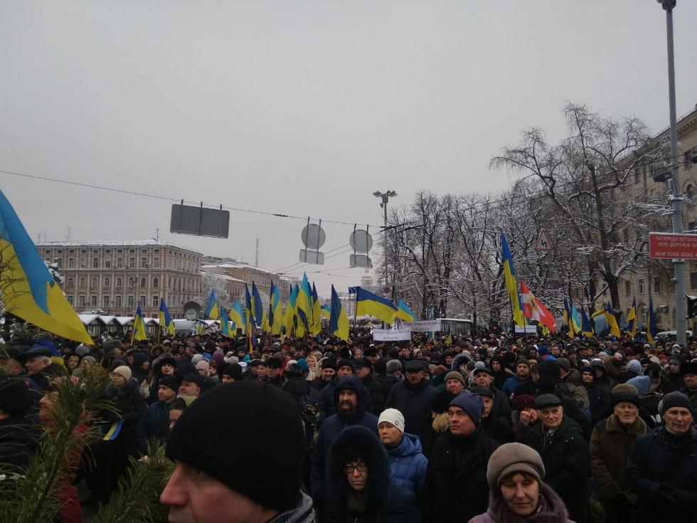 У Києві на Об'єднавчому Соборі