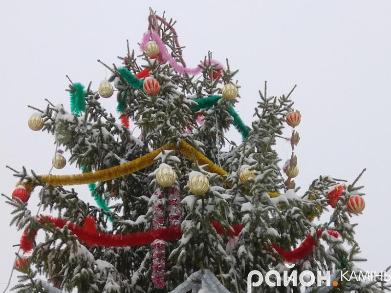 У Камені-Каширському відбудеться урочисте відкриття різдвяної ялинки