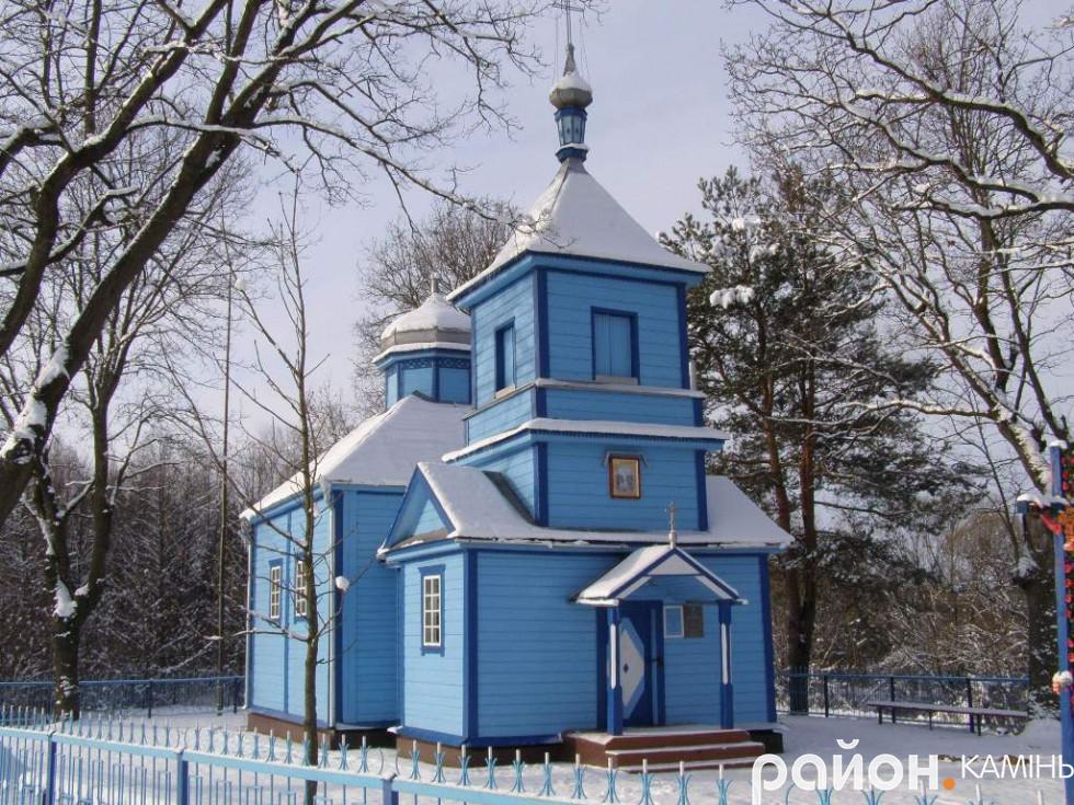 церква Успіння Богородиці, с. Запруддя