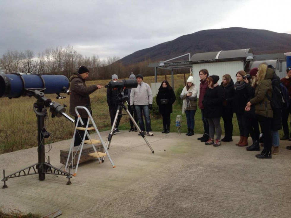 Лекція в словацькій обсерваторії