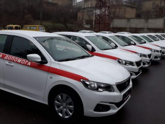 Волинській лікарні виділили легкові автомобілі