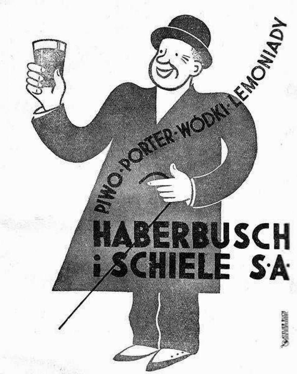 Реклама напоїв «Габербуш і Шіле», 1936 р.