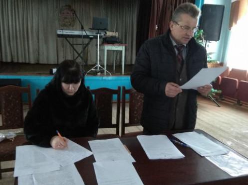 У Гуто-Боровенській ОТГ визнали повноваження голови: детальніше про перше сесійне засідання