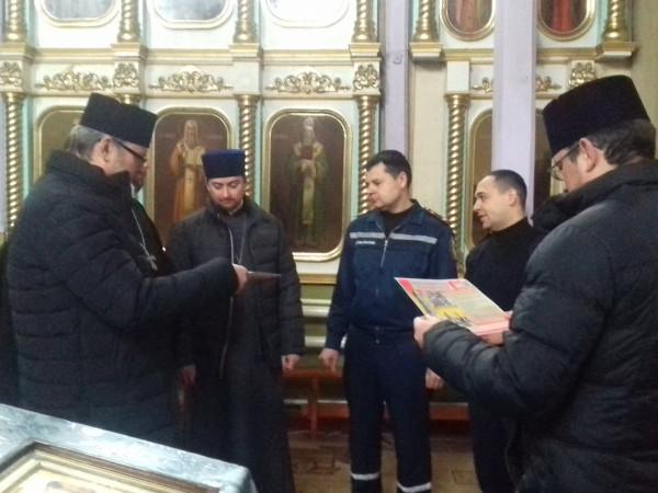 У Камені-Каширському священики зустрілися з рятівниками