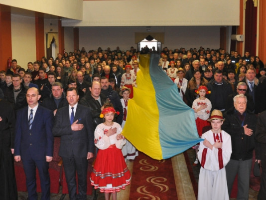 Як на Волині святкували сторіччя до Дня Соборності України