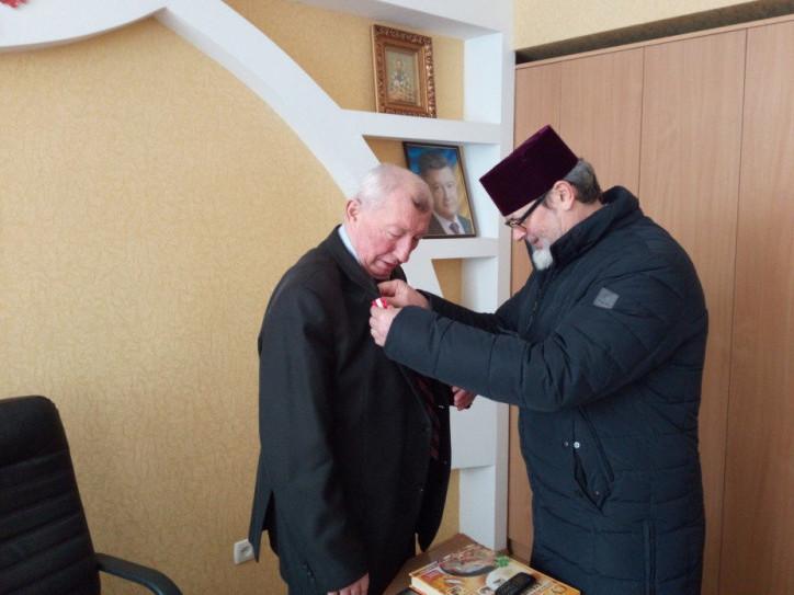 Директора Камінь-Каширського ВПУ нагородили  Відзнакою Волинської єпархії УПЦ