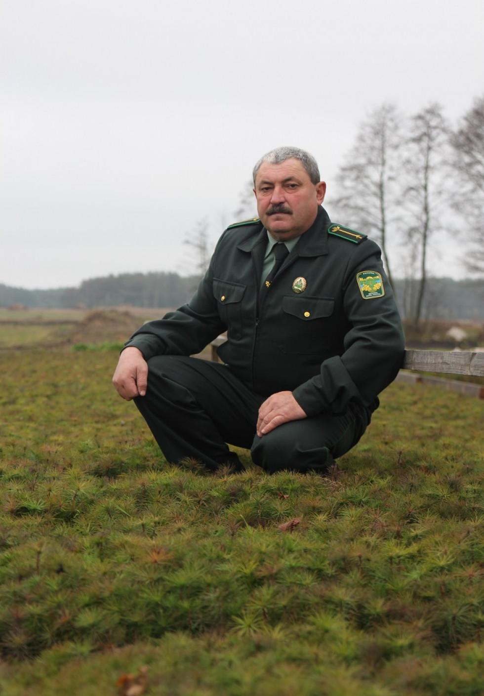 майстер лісу Сошичненського лісництва Василь Петрук