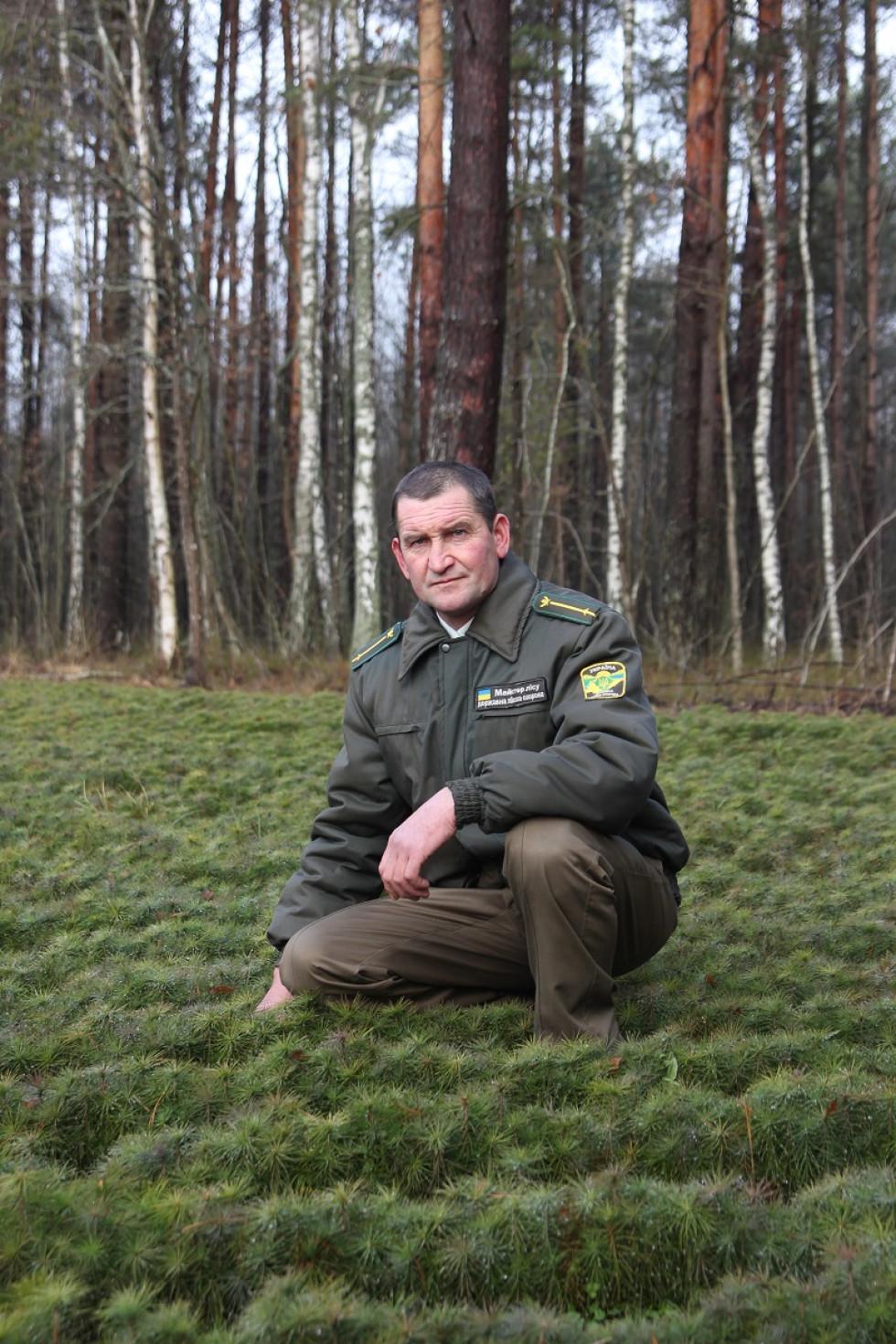 майстер лісу Добренського лісництва Петро Триндюк