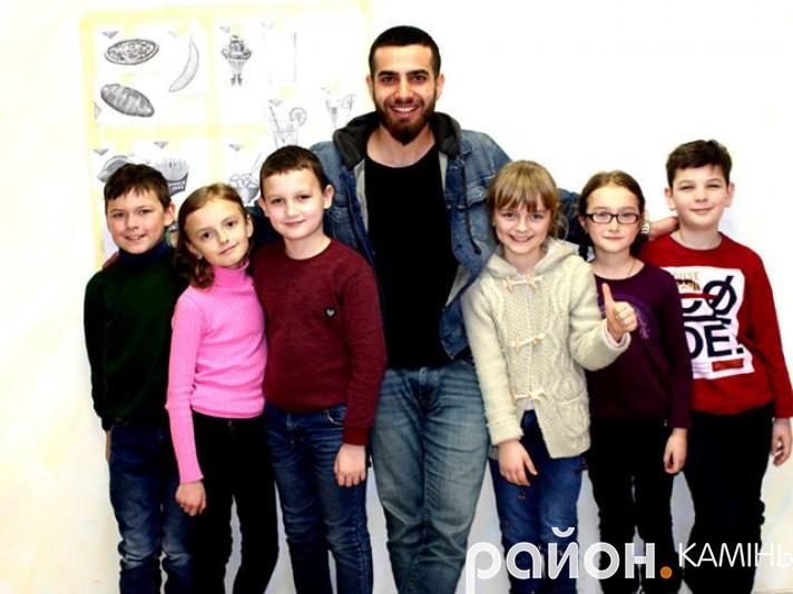 Гість із Туреччини провів заняття для волинських дітей