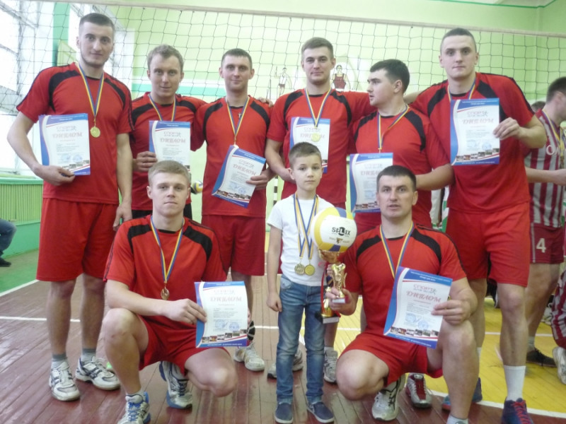 На Камінь-Каширщині пройшов районний чемпіонат з волейболу