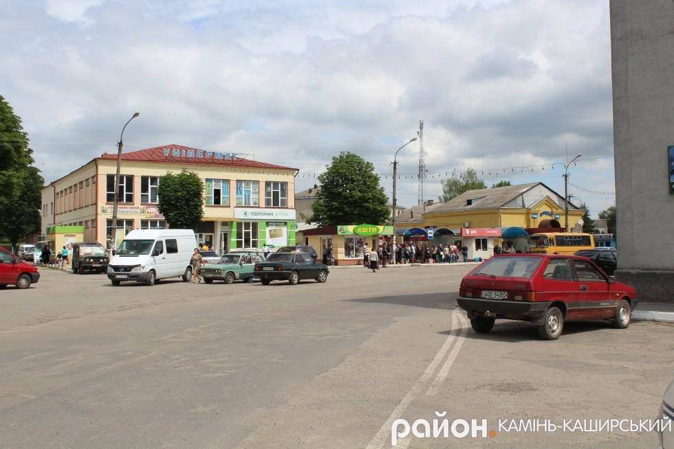 Центральна вулиця міста - Воля