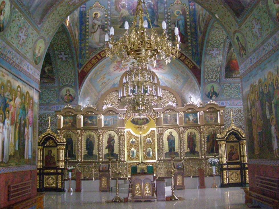 Інтер'єр Петропавлівського собору.