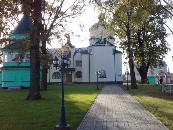 Михнівський Свято-Стрітенський жіночий монастир. Осінь 2016