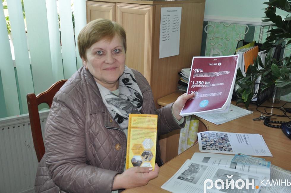Заступник директора училища ДПТНЗ «Камінь-Каширське ВПУ» Леся Гаврилюк