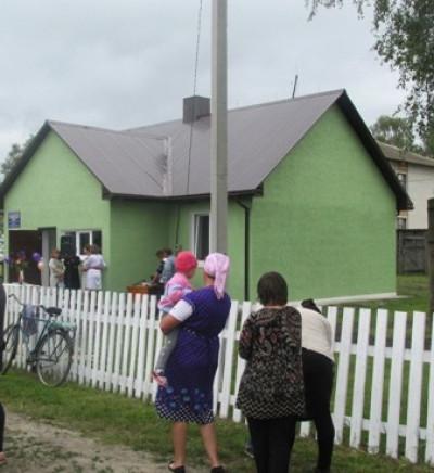 ФАП у селі Нові Червища