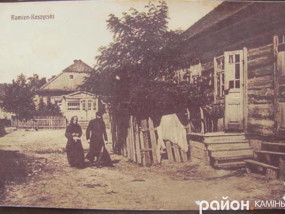 Євреї на вулиці Каменя-Коширського. Фото 20-х років ХХ ст.