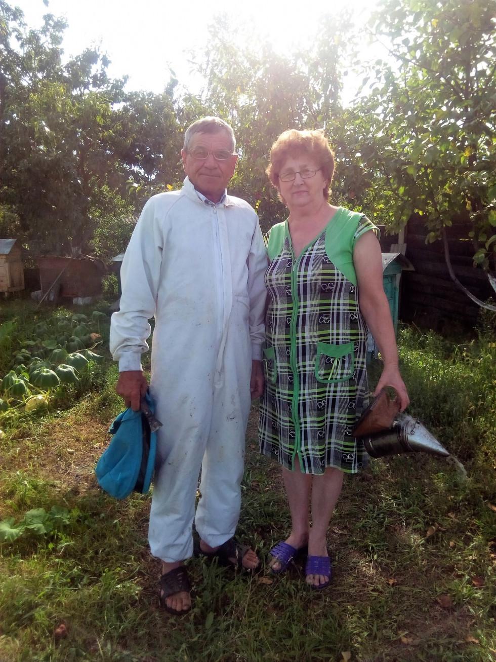 Петро Луцик з дружиною