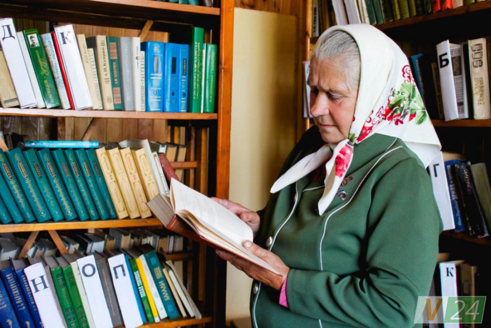 Марія Босак. 44 (!) роки в бібліотеці. Майже стільки у ''Дубровойці''!