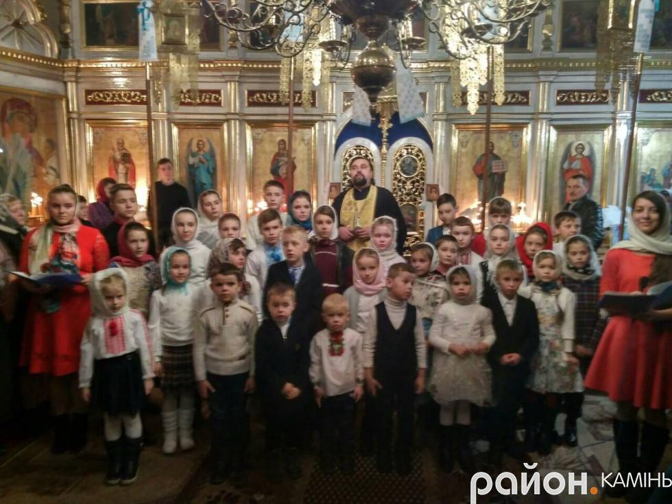 Недільна школа в Різдво-Богородичному храмі (1)