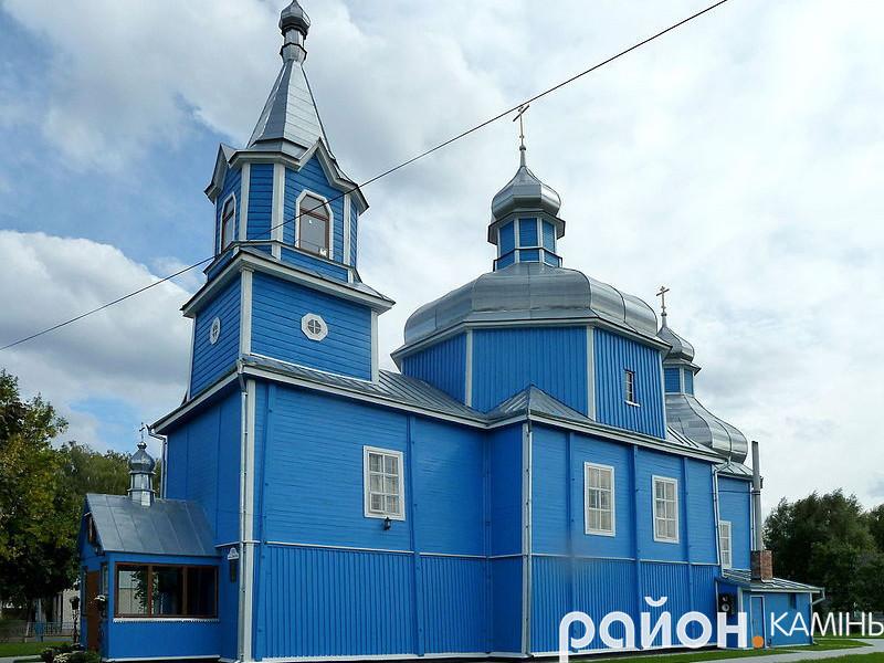 Церква Різдва Пресвятої Богородиці – окраса і духовна святиня міста і всього Камінь-Каширського краю.