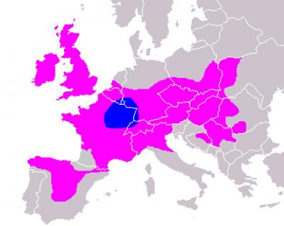 На мапі розселення кельтських племен в Європі 4 ст. до н.е. чітко видно, що кельти мешкали на території Волині, Галичини і в Карпатах.
