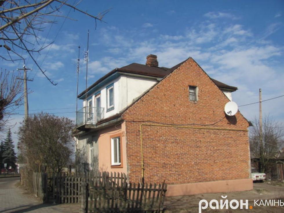 Житловий будинок у Камені-Каширському. Колись тут жили Качмареки