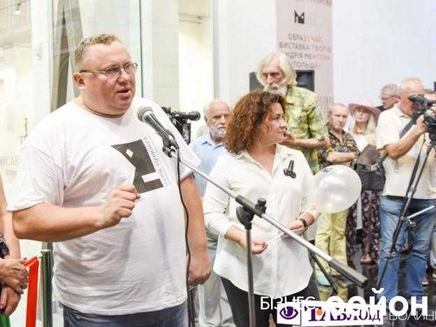 Віктор Корсак під час відкриття Музею