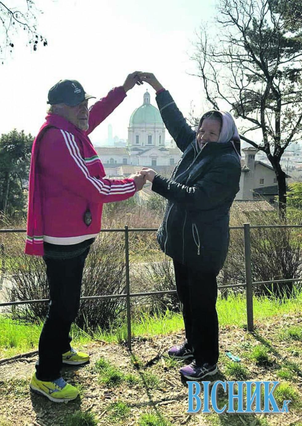 Подружжя СОЛОВ'ЇВ в Італії