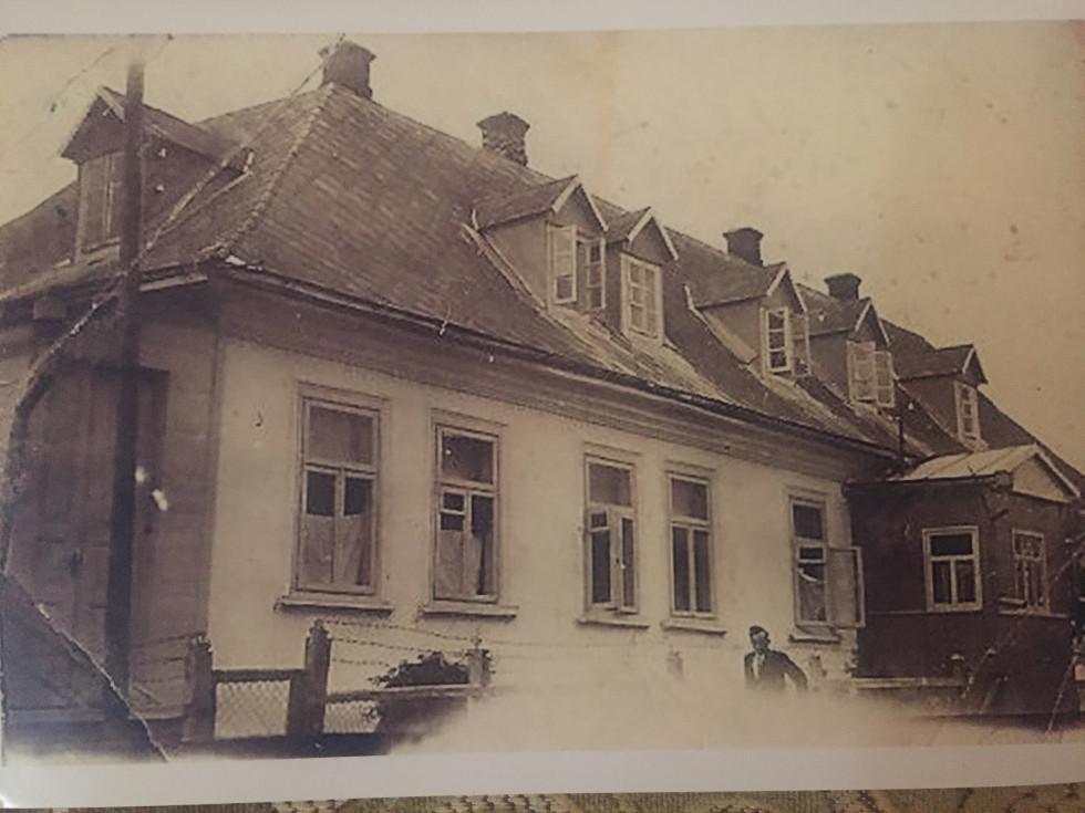 Кафе Чайна у центрі Каменя-Коширського. 20-30-і  рр. ХХ ст.
