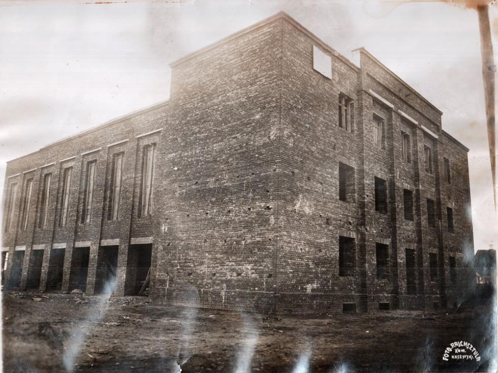 Будівництво Народного дому  у Камені - Каширському.1938 р.