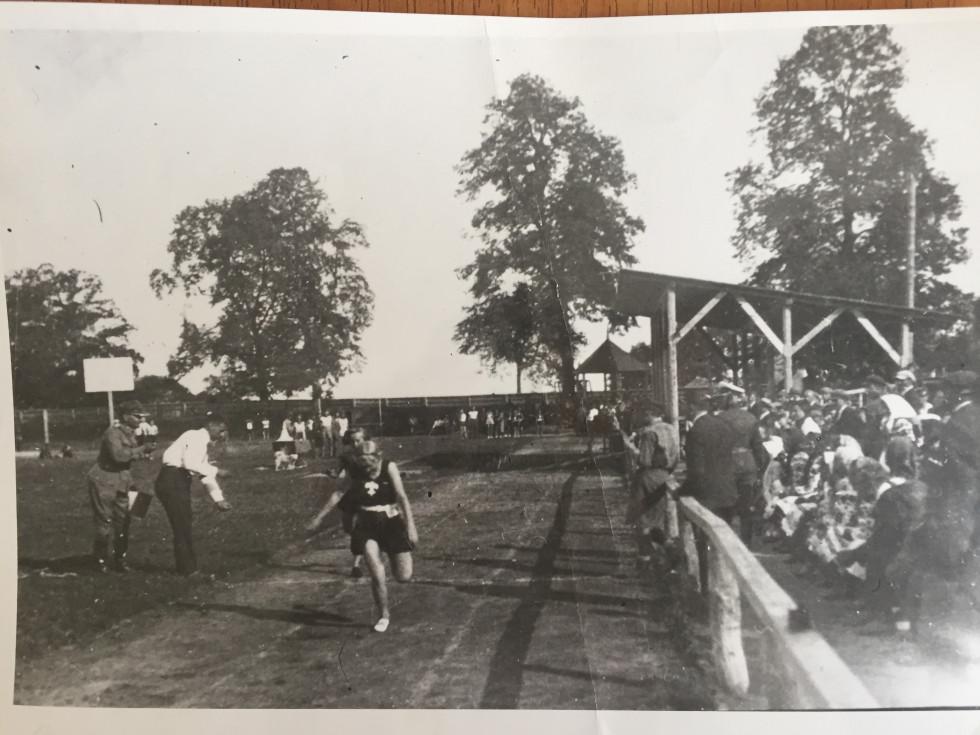 Змагання на міському стадіоні