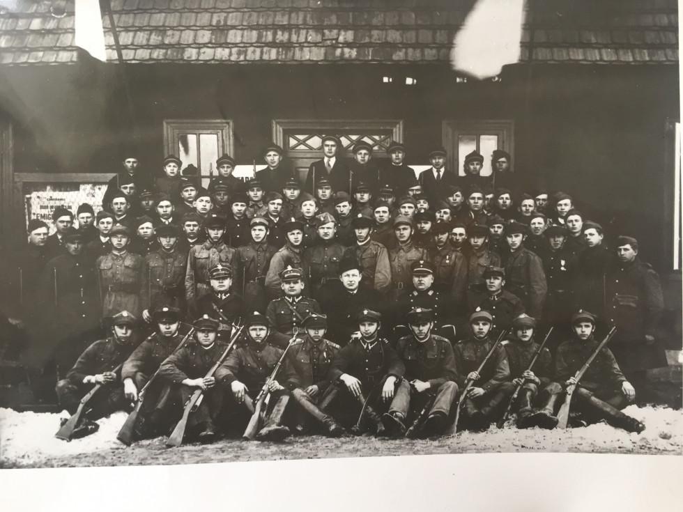 Союз стрільців у Камені-Коширському. 2-30-і роки ХХ ст.