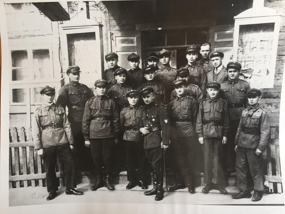 Стрільці в Камені-Коширському. 30-і рр. ХХ ст. (1)
