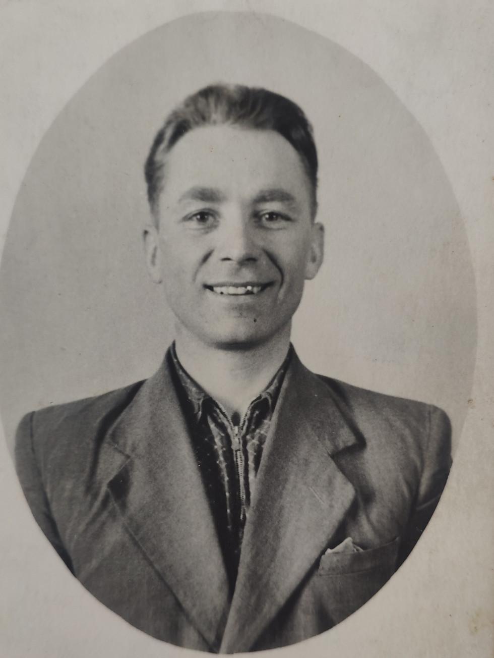 Іван Гончарук навесні 1955 року