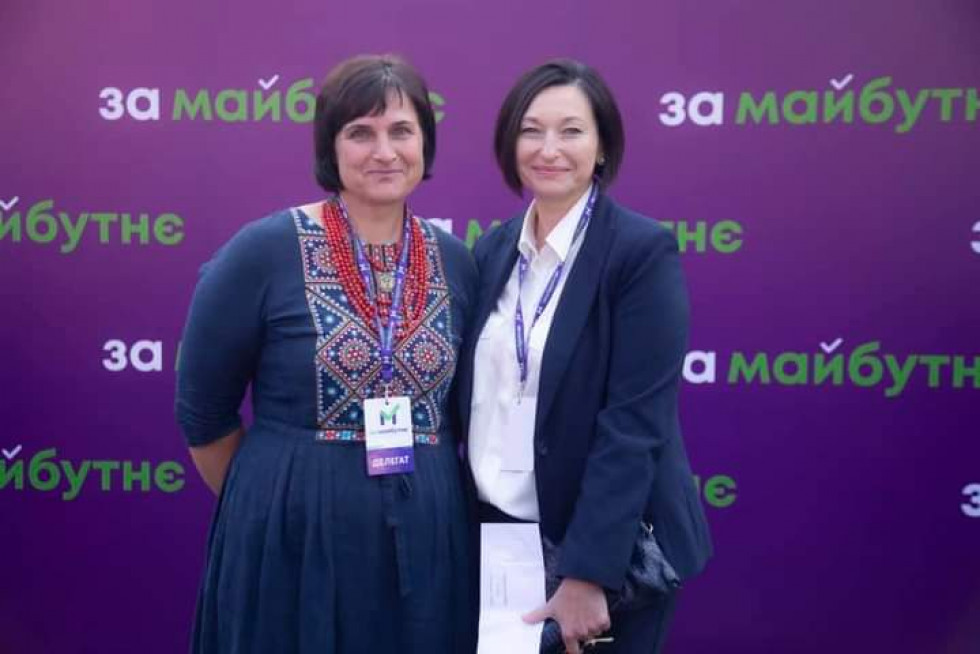 Світлана Макарівна та Ірина Констанкевич